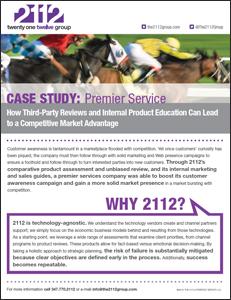 2112 Group Case Study: A Premier Service Company