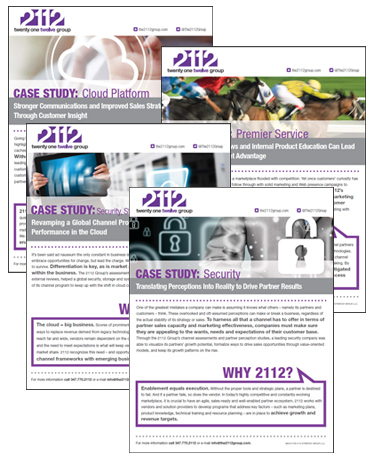 The 2112 Group Case Studies
