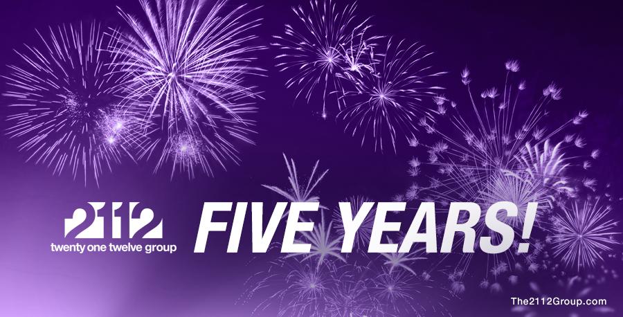 2112 Five Year Anniversary