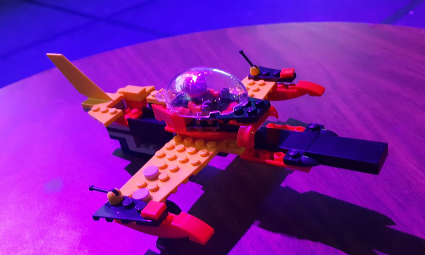lego race plane freeform